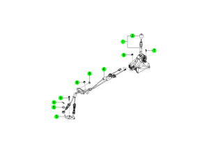 Механизм переключения передач МКПП