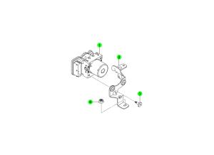 Гидравлический блок (HECU)