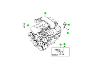 ENGINE UNIT(E28,E32,E36)