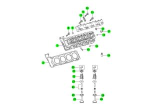 CYLINDER HEAD & GASKET(E50)