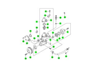 COOLING SYSTEM(E28,E32,E36)