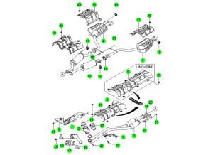 EXHAUST SYSTEM(E28,E32,E36)