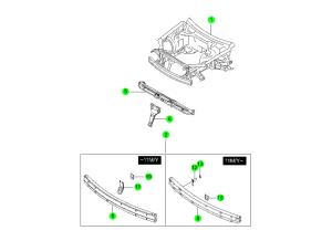 Передняя концевая панель