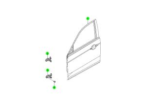 Панели передней двери