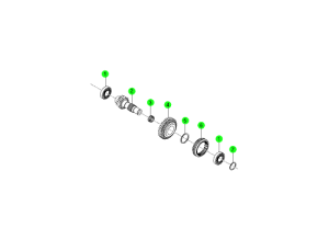 REVERSE IDLER SHAFT(6M/T)