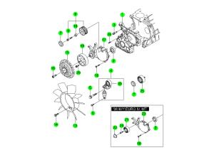 Компоненты ГРМ (D20,D27)