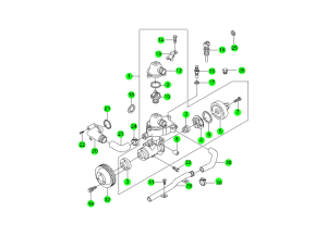 COOLING SYSTEM(E28,E32)