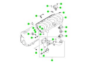 INTAKE MANIFOLD(E28,E32)