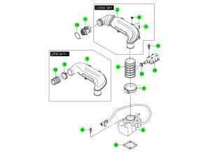 AIR INTAKE SYSTEM(E28,E32)