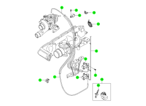 EXHAUST GAS RECIRCULATION SYSTEM(D20)