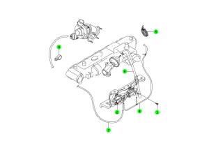 EXHAUST GAS RECIRCULATION SYSTEM(D27)