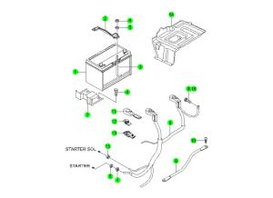 Аккумулятор и провода