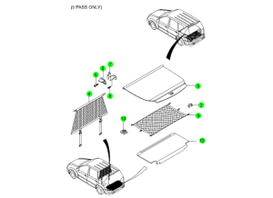 LUGGAGE PARTS(5PASS)