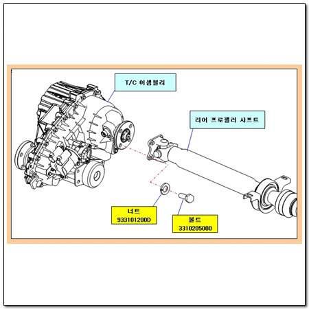 ssangyong 3310205000