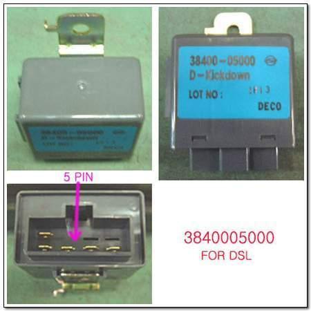 ssangyong 3840005000