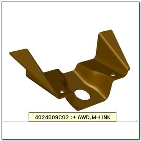 ssangyong 4024009C02