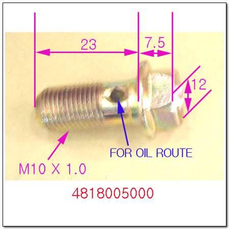 ssangyong 4818005000
