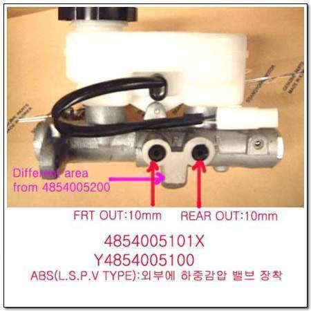 ssangyong 4854005101X