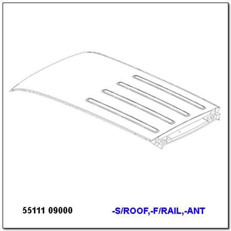 ssangyong 5511109000