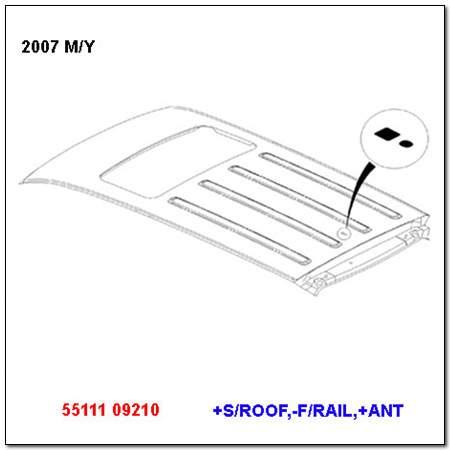 ssangyong 5511109210
