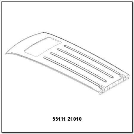 ssangyong 5511121010