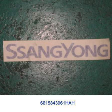 ssangyong 6615843961HAH