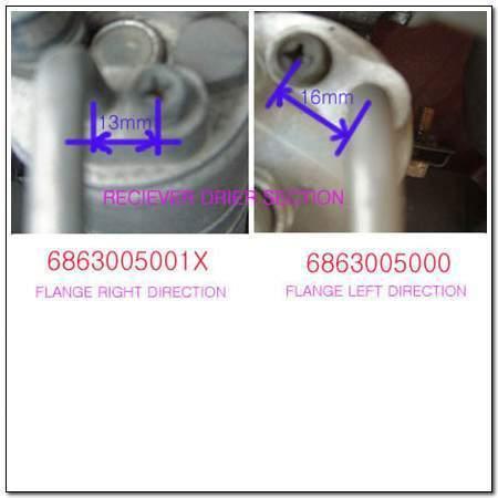 ssangyong 6863005001X