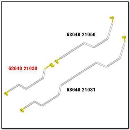 ssangyong 6864021030