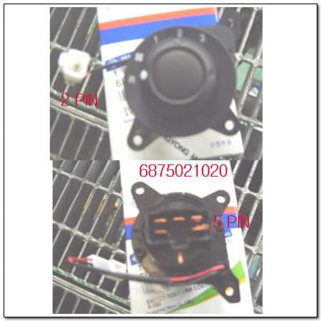 ssangyong 6875021020
