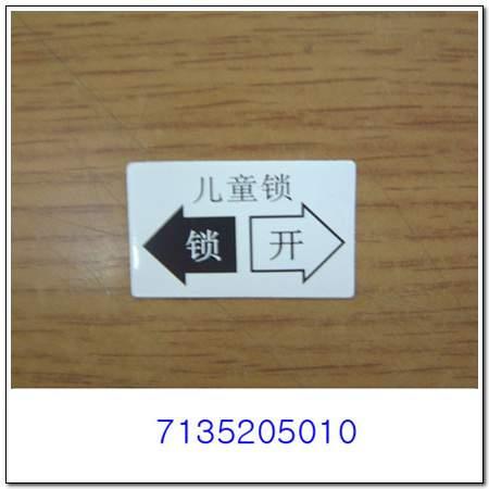 ssangyong 7135205010