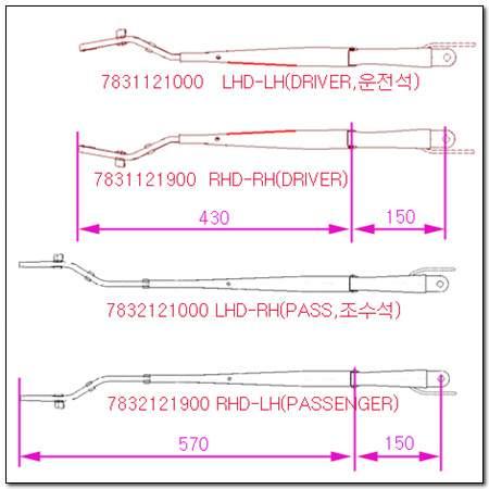 ssangyong 7832121900