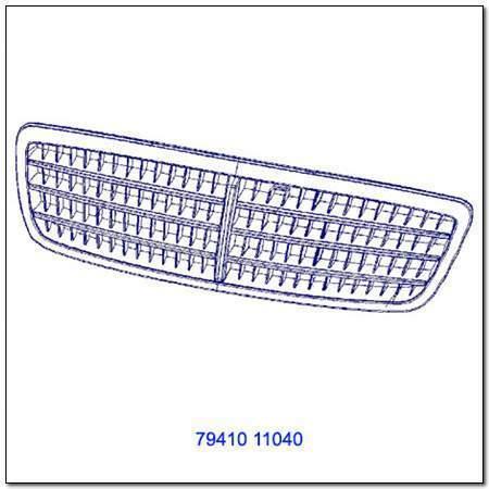 ssangyong 7941011040