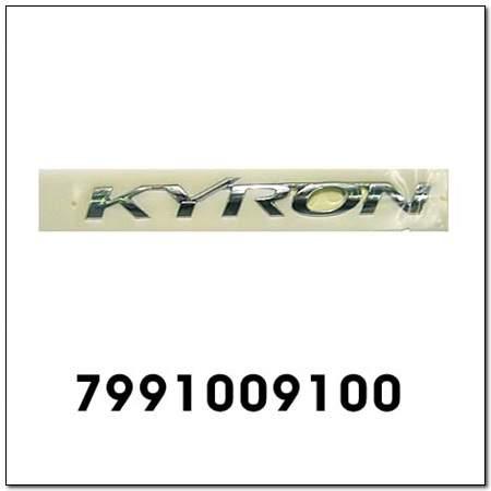 ssangyong 7991009100