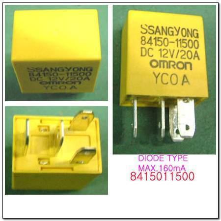 ssangyong 8415011500