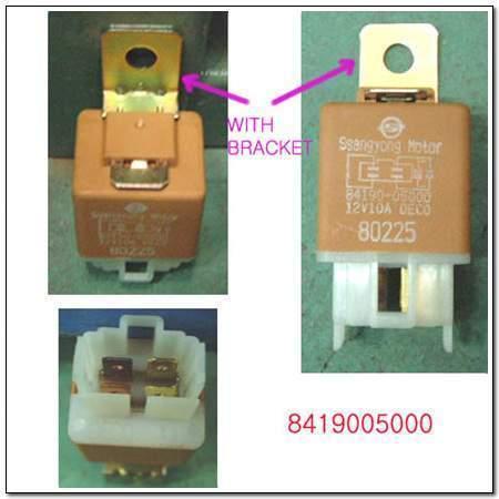 ssangyong 8419005000