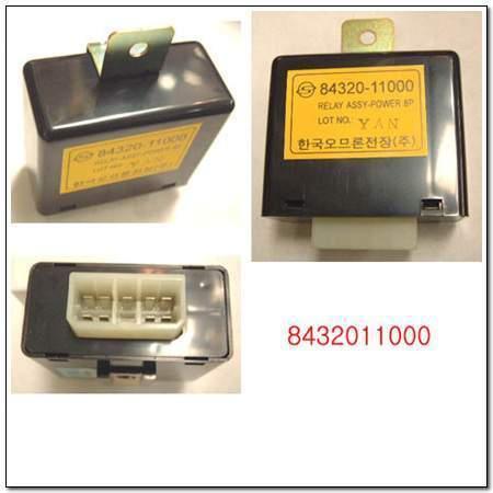 ssangyong 8432011000