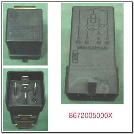 ssangyong 8672005000X