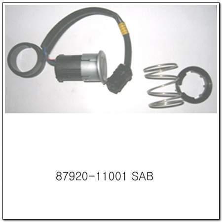 ssangyong 8792011001SAB